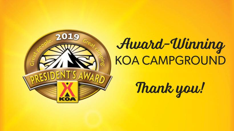 2019 KOA President's Award